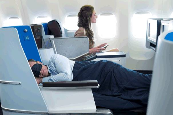 Klm Introduces New World Business Class Cabin In B777 200