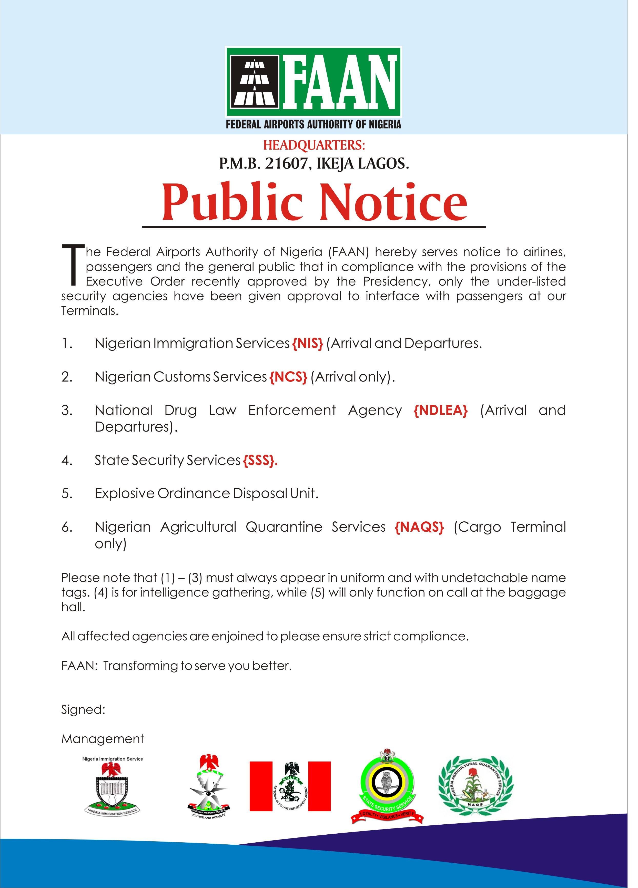 Public Notice Advert blue